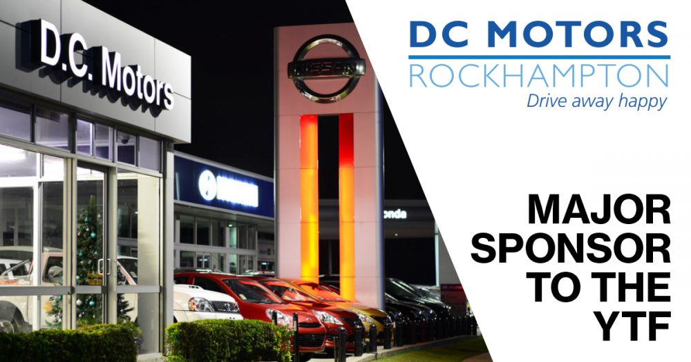 DC Motors Rockhampton – Major Sponsor