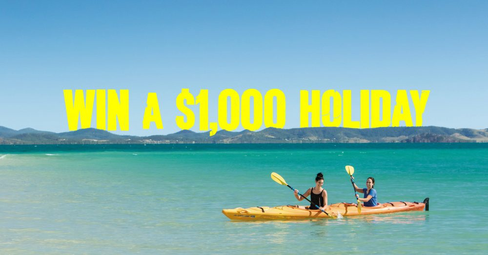 Win a $1000 holiday for two