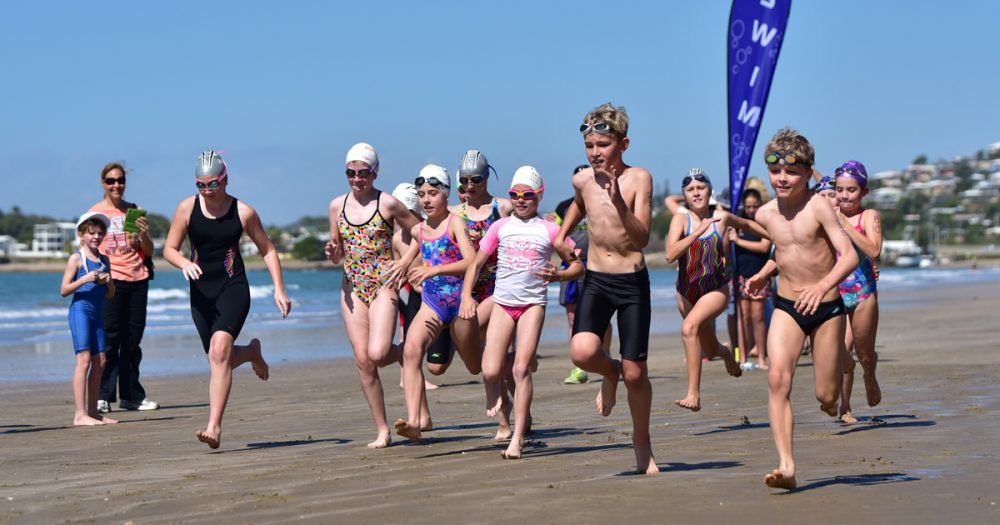 The Yeppoon Aquatic Centre Kids Aquathlon