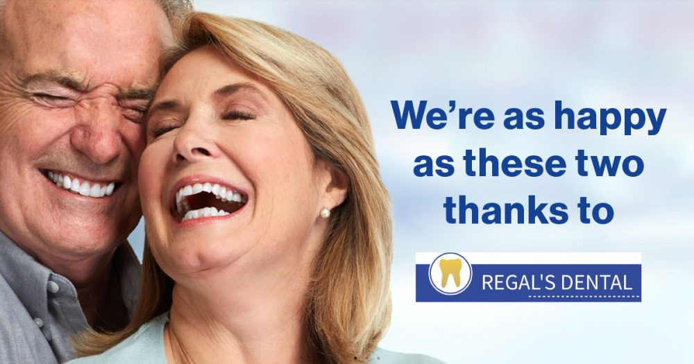A big thanks to Regal's Dental for their support