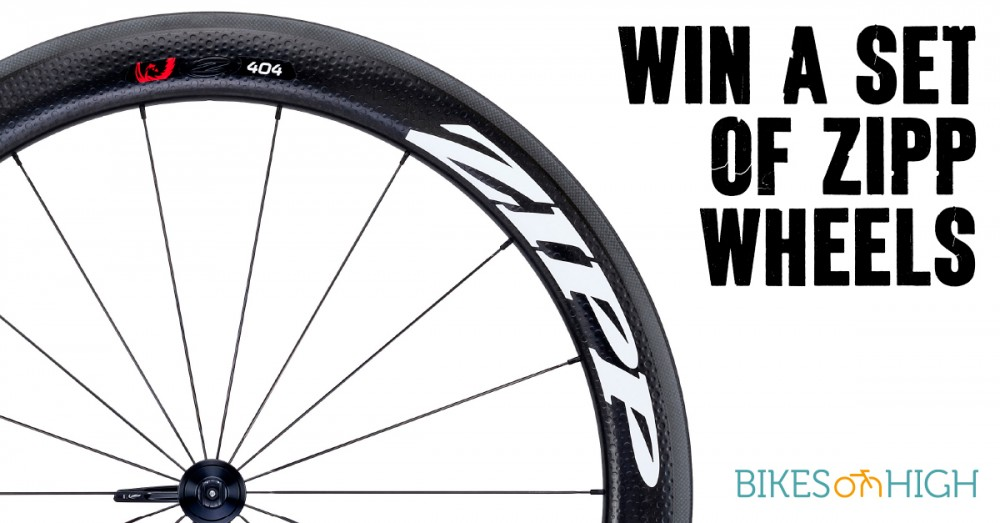Win a set of Zipp Wheels valued at $3,350