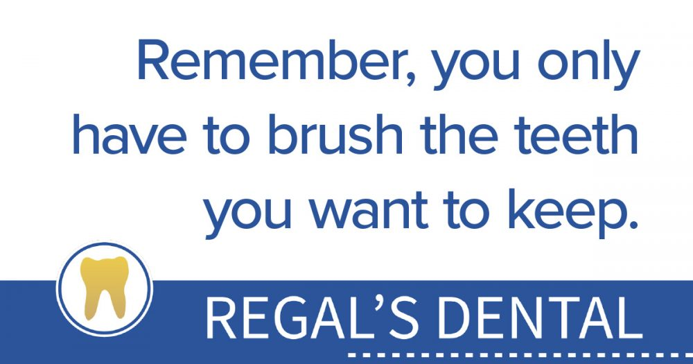 Regal's Dental supporting the YTF